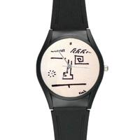 Watch Funk High Quality Black Plastic Watch Model313