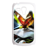 Butterfly on the car Custom Cases for Samsung Galaxy SIII mini i8190