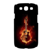 the burning guitar Case for Samsung Galaxy S3 I9300 (3D)