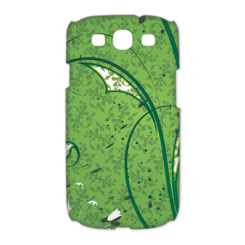 green wall Case for Samsung Galaxy S3 I9300 (3D)