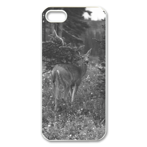 Black Tail Deer Case for Iphone 5