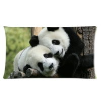 Custom Rectangle Pillow Cases 20x36 (one side)