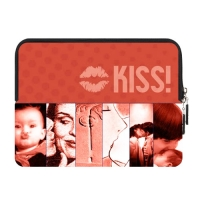 New Custom Zipper Sleeve for IPad1,IPad2,IPad3,IPad4 (two sides)