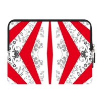 Custom Zipper Sleeve for Samsung Galaxy Tab 10.1 (Two Sides)