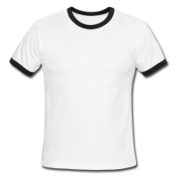 Men's  Contrast T-Shirt Model T15