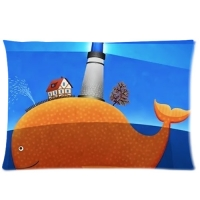 Custom Zippered Pillow Cases 20x26 (Two sides)