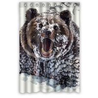 "Custom Shower Curtain 48"" x 72"""