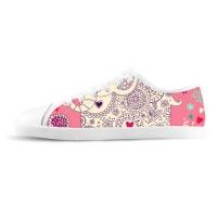 Custom Canvas Shoes for Women Model016