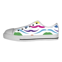 Custom Canvas Shoes for Women Model018