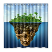 "Custom Shower Curtain 72"" x 72"""