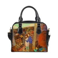 Custom Shoulder Handbag Model 1634(Twin Sides)