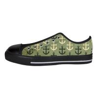 Custom Aquila Canvas Shoes for Men Model018(Large Size)