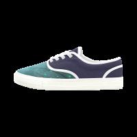 Custom Aries Men's Canvas Shoes (Model029)