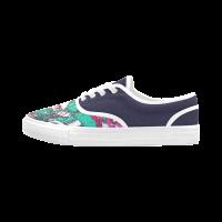 Custom Aries Women's Canvas Shoes (Model029)