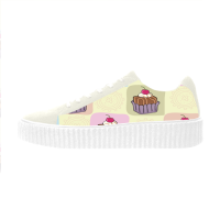 Custom Pisces Women's Thick Soles Shoes( model306)