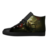 Custom Aquila High Top Action Leather Men's Shoes (Model032)(Large Size)
