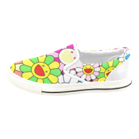 Custom Slip-on Canvas Kid's Shoes(Model019)