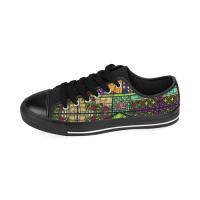 Custom Aquila Kid's Canvas Shoes (Model018)