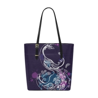 Custom Euramerican Tote Bag/Small (Model 1655)