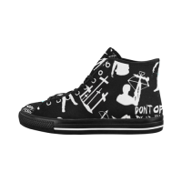Custom Vancouver High Top Men's Canvas Shoes(Model1013-1)(Large Size)