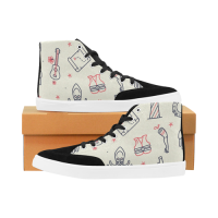 Custom Bootes High Top Canvas Women's Shoes (Model 038)
