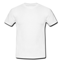 Men's classic white t-shirt Model T12 (One Side)