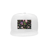 Custom Unisex Flat Bill Snapback Hat