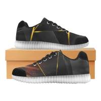 Custom Light Up Casual Men's Shoes (046)