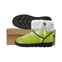 Custom Unisex Single Button Women's Snow Boots ( 051)