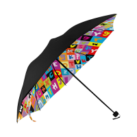 Anti-UV Foldable Umbrella (Underside Printing)