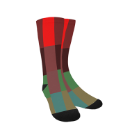 Sublimated Crew Socks(Made In AUS)