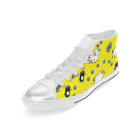 Custom High Top Canvas Shoes for Women Model017