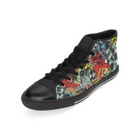 Custom Aquila High Top Canvas Shoes for Men Model017