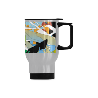 Travel Mug(Silver ,14OZ)