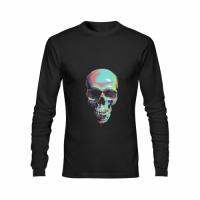 Men's Heavy Cotton Long Sleeve T-Shirt/Large