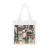 Canvas Tote Bag/Small (Model 1700)
