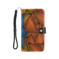 Flip Leather Purse for Mobile Phone/Large (1703)