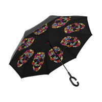 Inverted Umbrella with C-Shaped Handle(U10)