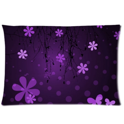 Custom Zippered Pillow Cases 20x30 (Two sides)