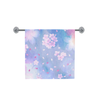 "Custom Bath Towel 30""x56""(One Side)"