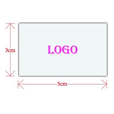 Custom Logo for Tote Bag (zipper) (5cm X 3cm)