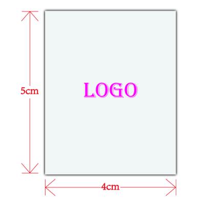 Custom Logo for Women's Clothing(4cm X 5cm)