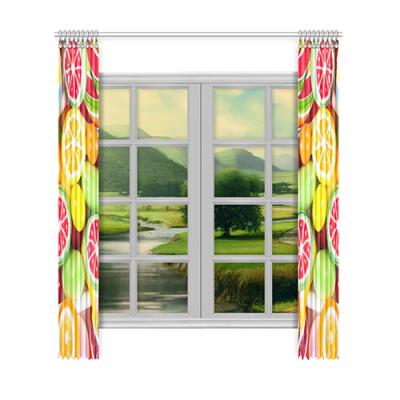"""Custom Window Curtain 52""""x120""""(Two Piece)"""