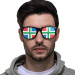 Custom Sunglasses (Perforated Lenses)