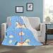 Ultra-Soft Micro Fleece Blanket 50*60