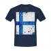Custom Men's Gildan T-shirt(USA Size) Model T02  (One Side)