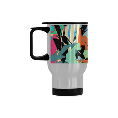 Travel Mug(Silver ,14OZ)