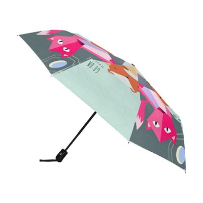 Anti-UV Auto-Foldable Umbrella (U09)