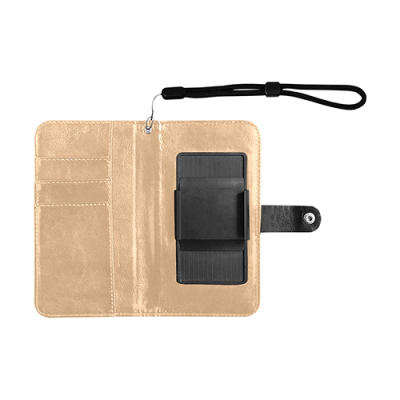 Flip Leather Purse for Mobile Phone/Small (1704)