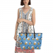 Chic Leather Tote Bag(1709)